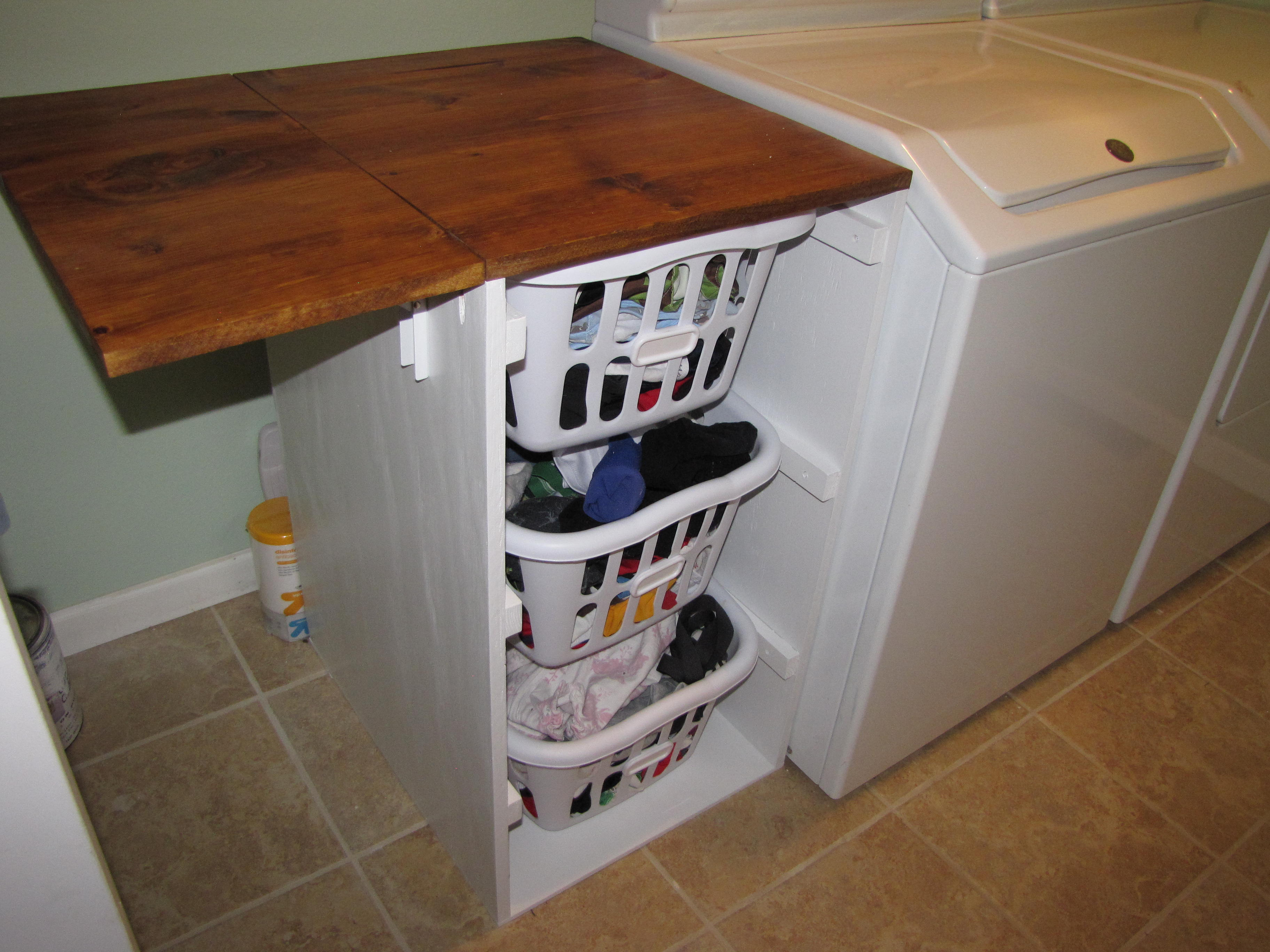Fold Down Laundry Table The Art Of Installation And