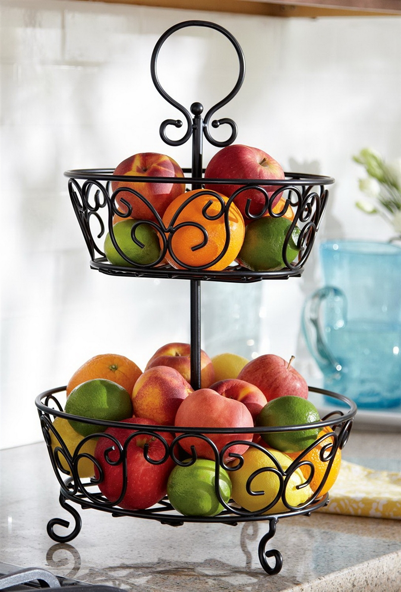 Tiered Fruit Stand Various Types Of Stands Homesfeed