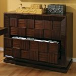 classic wooden decorative filing cabinets dark brown lateral filig cabinets cubes accent natural wood floor