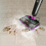 cleaning ceramic tile floors by vacuuming stylish black purple vacuum machine