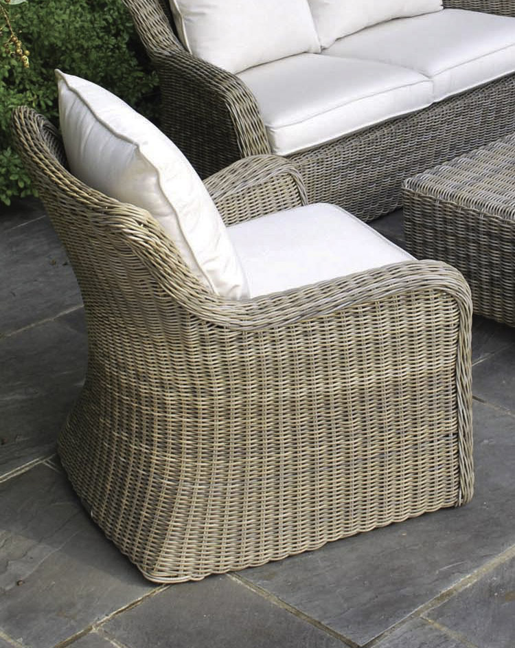 Contended Kingsley Bate Sag Harbor Lounge Chair In Clic White Decorated Awesome Patio Combined With