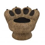 cool chair design in Leopard's paw shape