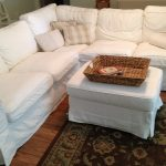 couches pillows basket rug