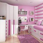 cupboard bed bedroom pillows bookshelf rug