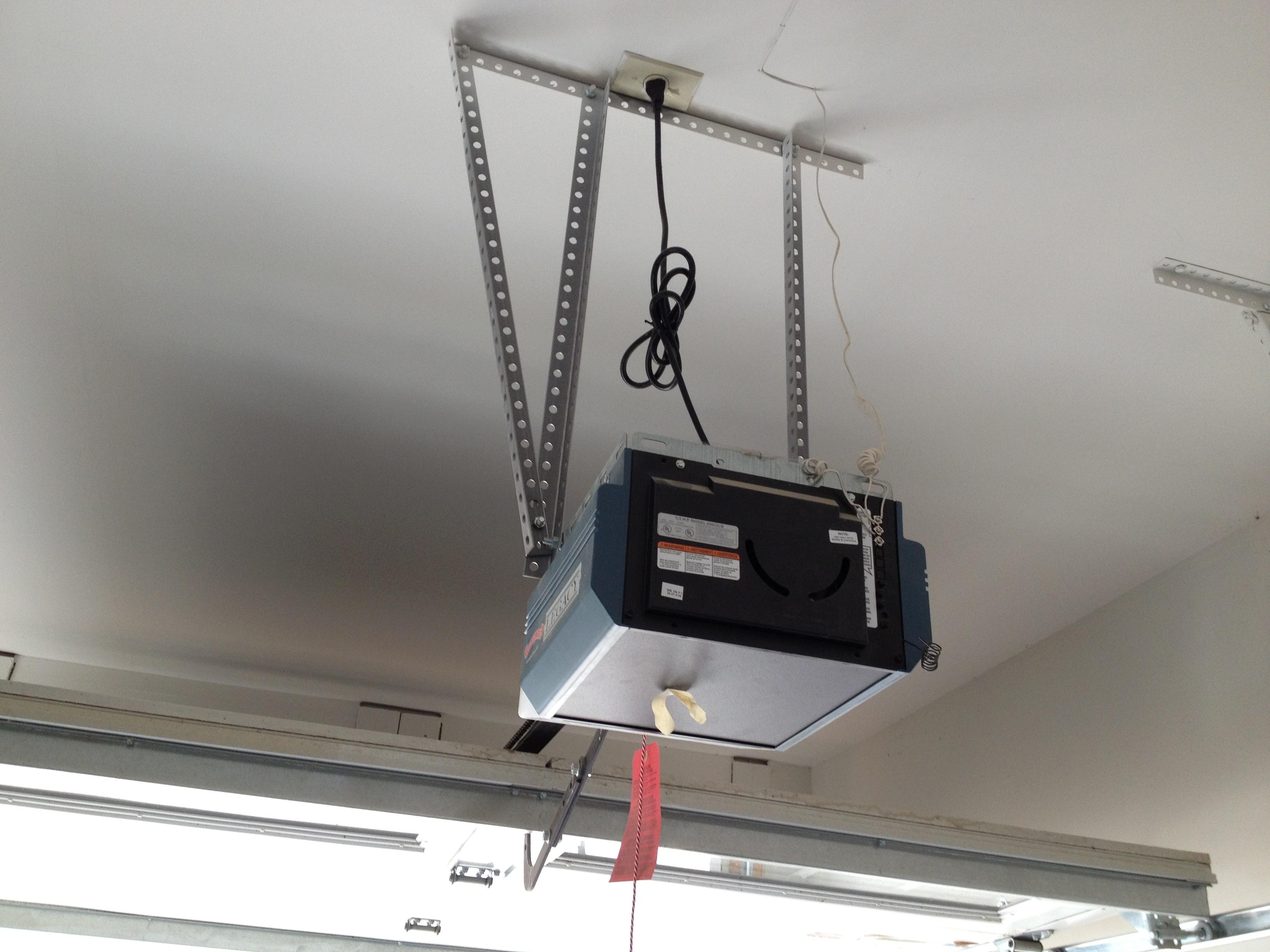 Install Low Profile Garage Door Opener Dandk Organizer