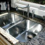 double sink steel kitchen sink