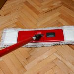 dual action red white best mop for hardwood floors
