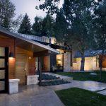 exterior mid century lamps garden