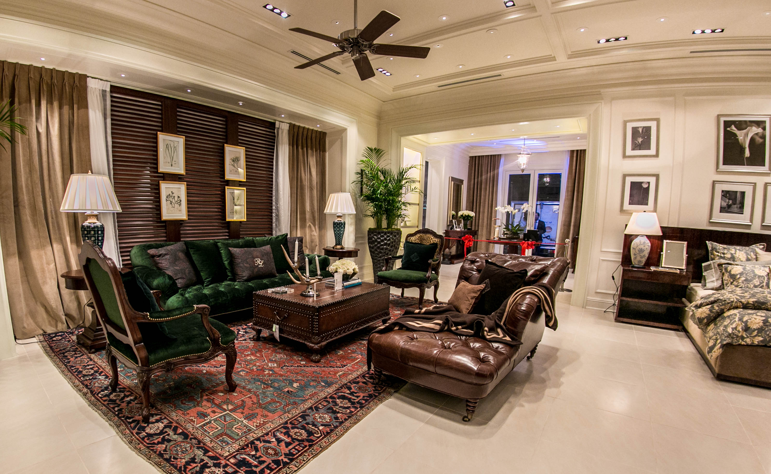 Ralph lauren home design homesfeed for Ralph lauren living room designs