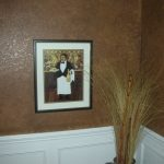 faux finishing frame decor