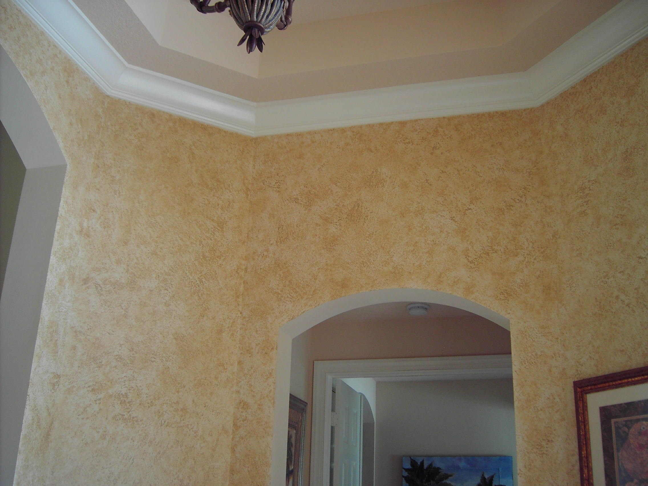 Stucco Look Interior Walls