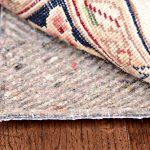 Felt & Natural Rubber Rug Pad For Hardwood Floor Wooden Floor Abstract Motive Rug