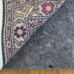 fiber rug pads Best rug pad for hardwood floors classic flower motive rug