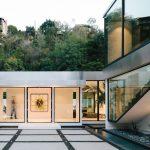 Fleetwood Windows And Doors Modern Luxirious House Green Nature Palm Tress
