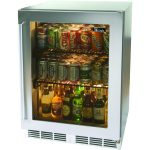 glass refrigerator drinks