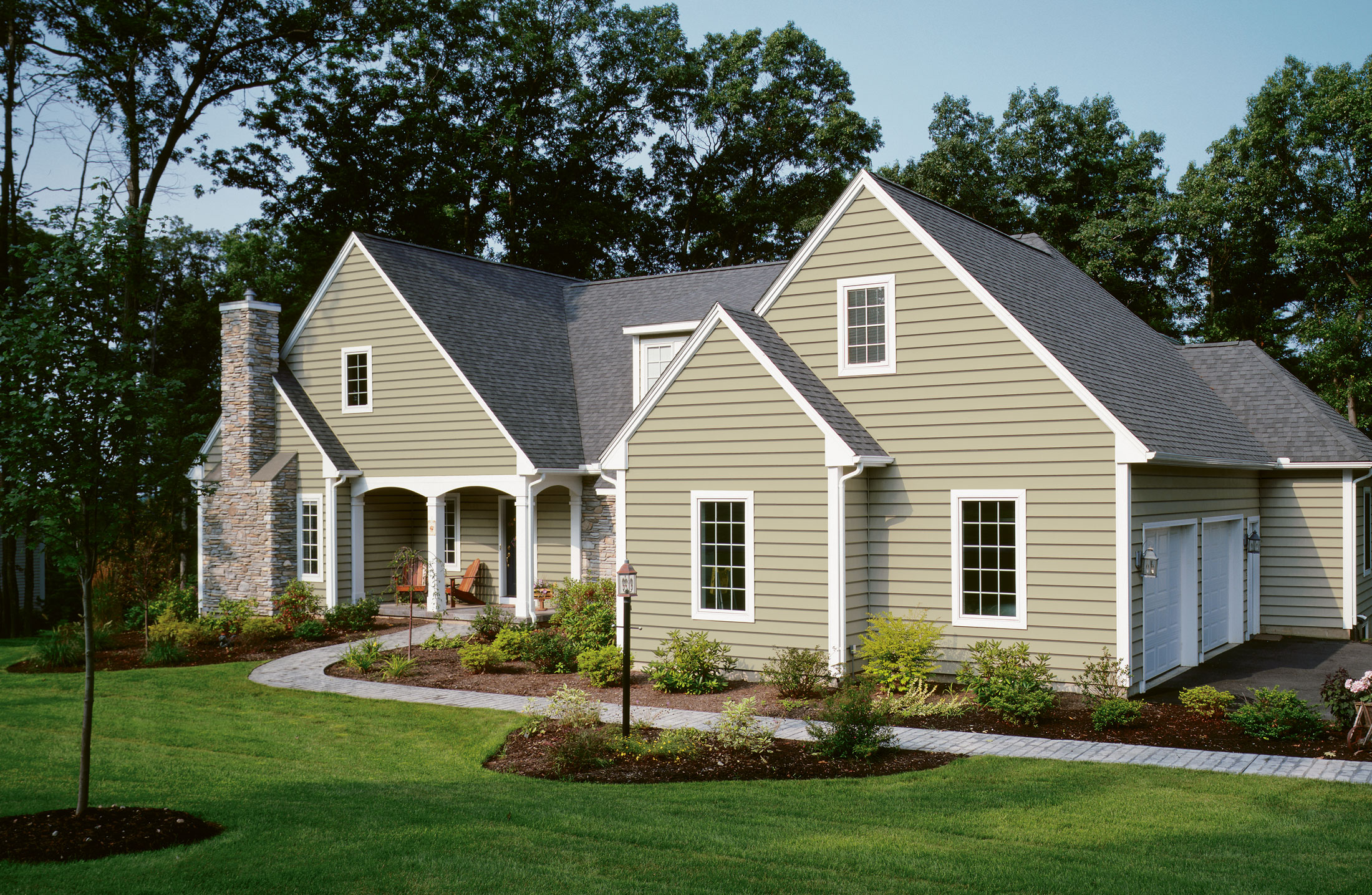Most popular types of siding for homes homesfeed for Sustainable siding
