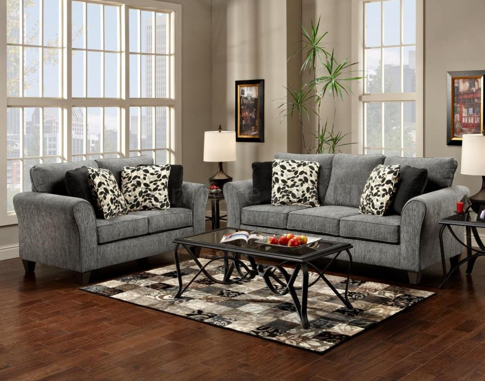 Gray Sofa And Loveseat Sets