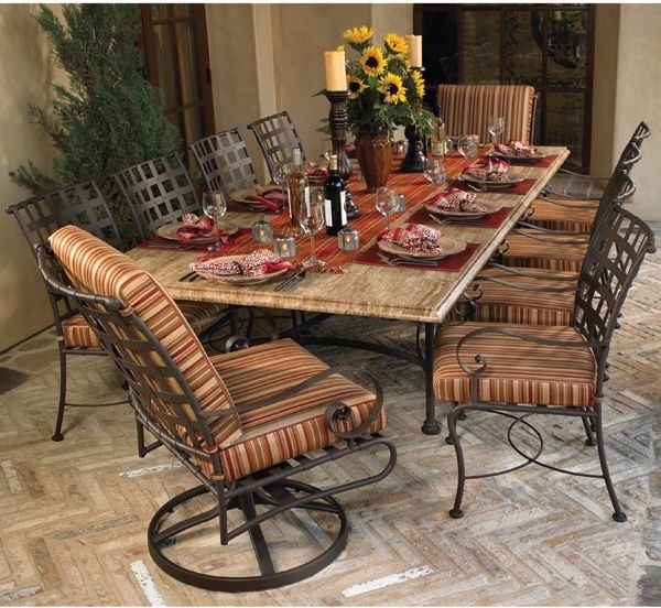 Wrought Iron Kitchen Tables: Wrought Iron Kitchen Tables Displaying Attractive