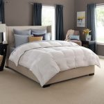 high end linens in bedroom ideas with wooden night stand and rug on floor area plus beige chair and panel curtain