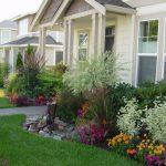 house landscape flower grass