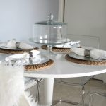 ikea tulip table for dining room decorating ideas plus beautiful dining set with napkin and glass jar and cool chairs