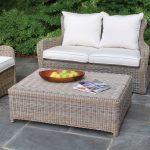 kingsley bate sag harbor settee with coffee table for pleasant patio and garden decorating ideas