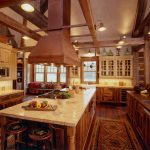 kitchen set rustic home rug lamps