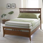 kluft mattress review on wooden bed frame suitable for comfortable and cozy bedroom ideas plus modern hardwood floor