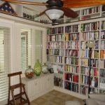 lamp fan shader books bookshelf library