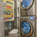 laundry room washer dryer basket
