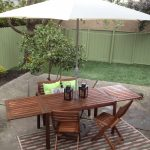 lawn furniture chairs table lamps outdoor