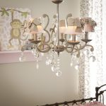 light chandelier grey with shades large
