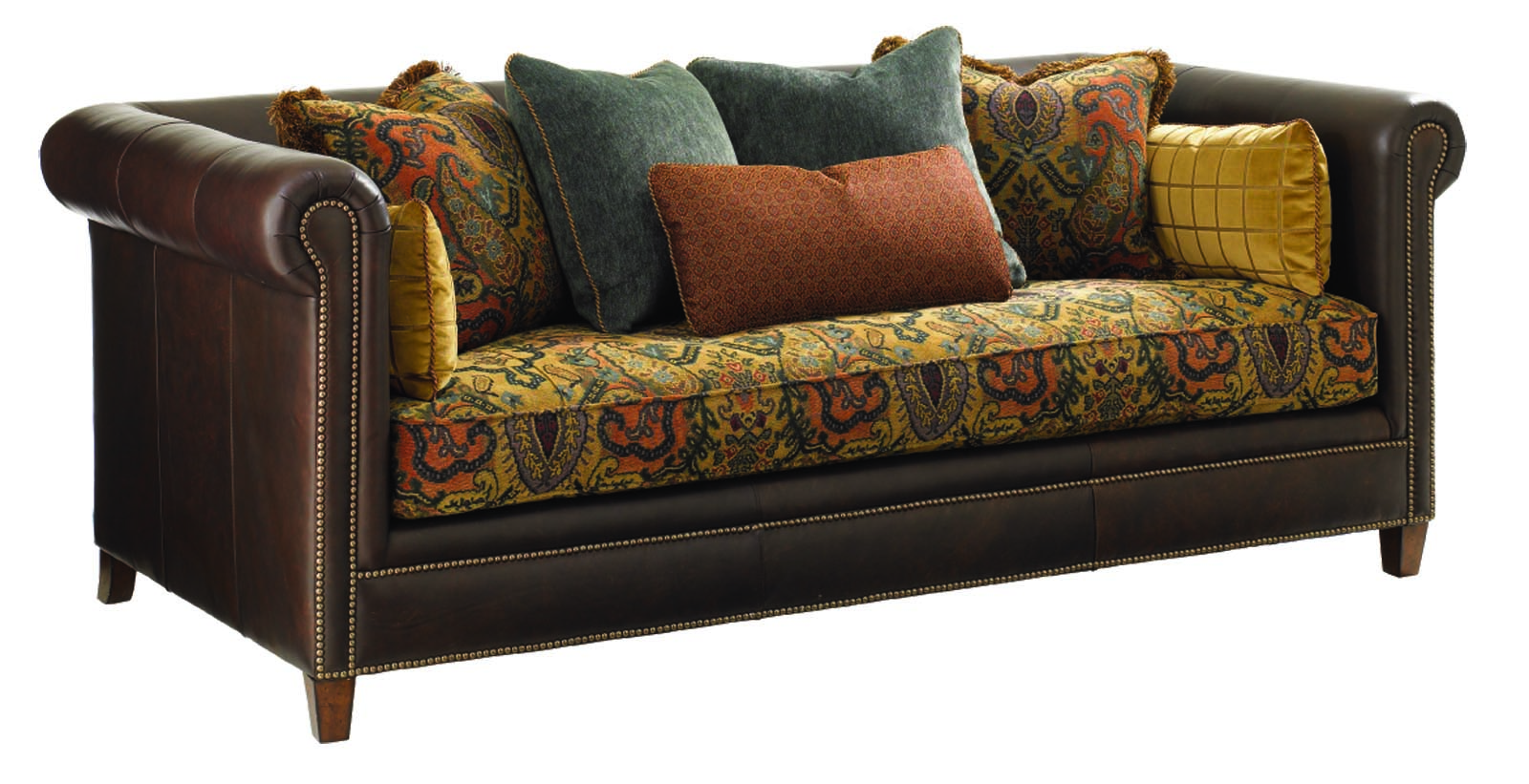 Upgrade your interior look with painting fabric furniture for Couch und sofa