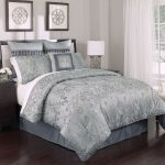 luxurious high end linens bedding set in california king bed with grey scheme for modern bedroom ideas