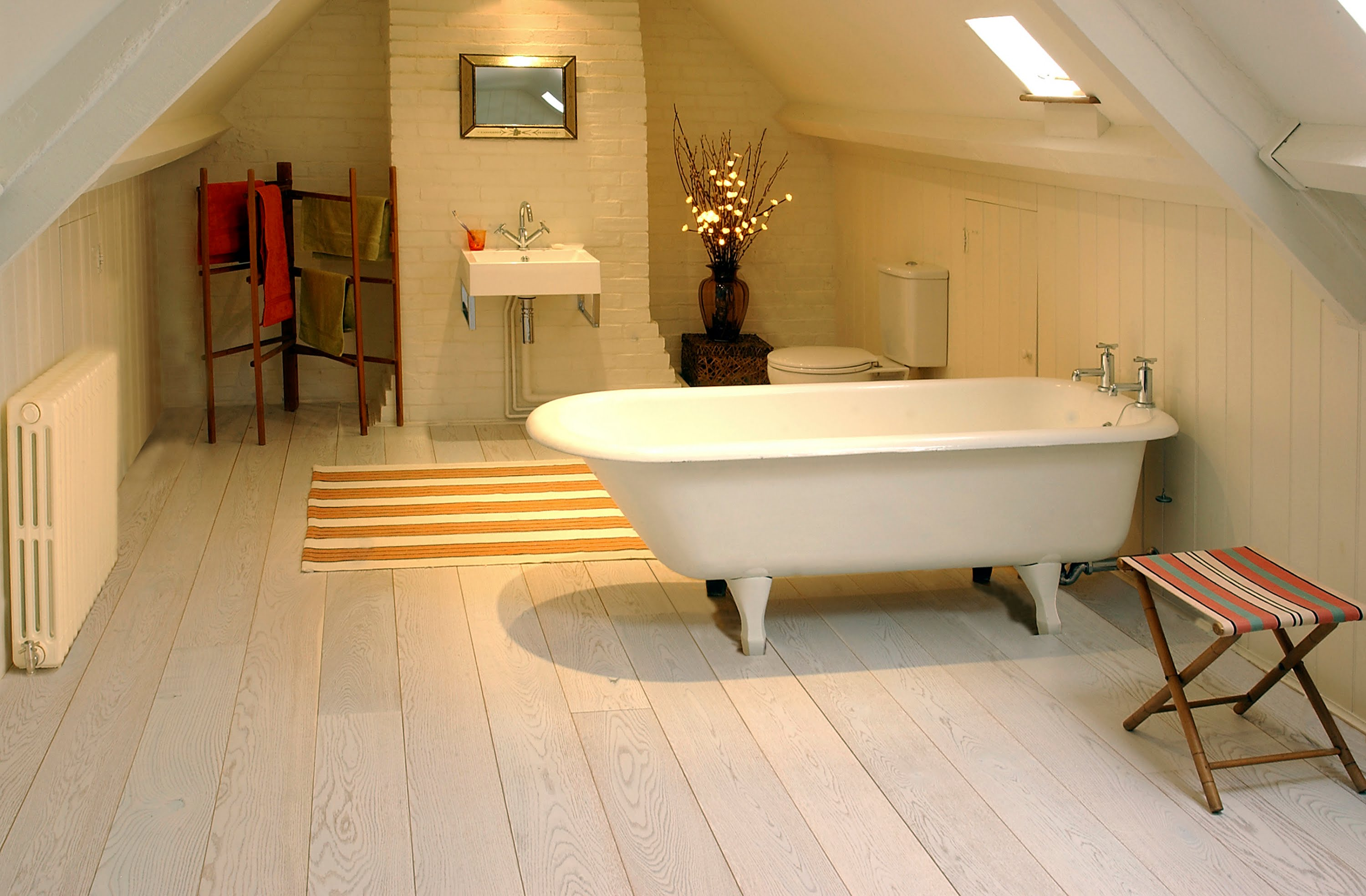 Bamboo Flooring In Bathroom