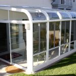 modern glass sunroom