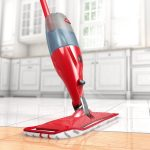 modern red grey O-Cedar 145143 spray mop for hardwood floor effective and easy cleaning