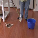 mop for wood floors brown wooden floors blue bucket white table