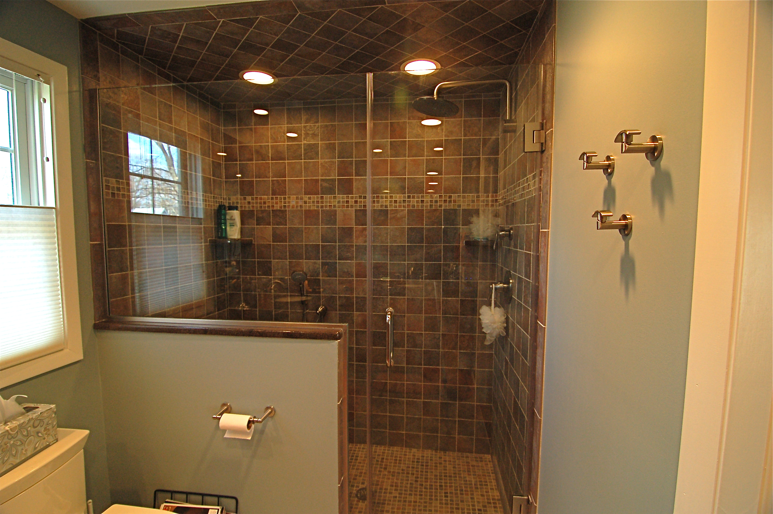 Yourself Installing Tile Shower Homesfeed