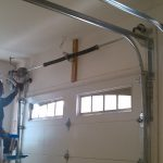 opener garage wall ceiling window