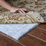 pad rug floor wood