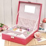 pinky girl jewely boxes for simple wedding gifts