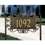 plaque home steel