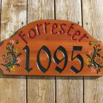 plaque home wood
