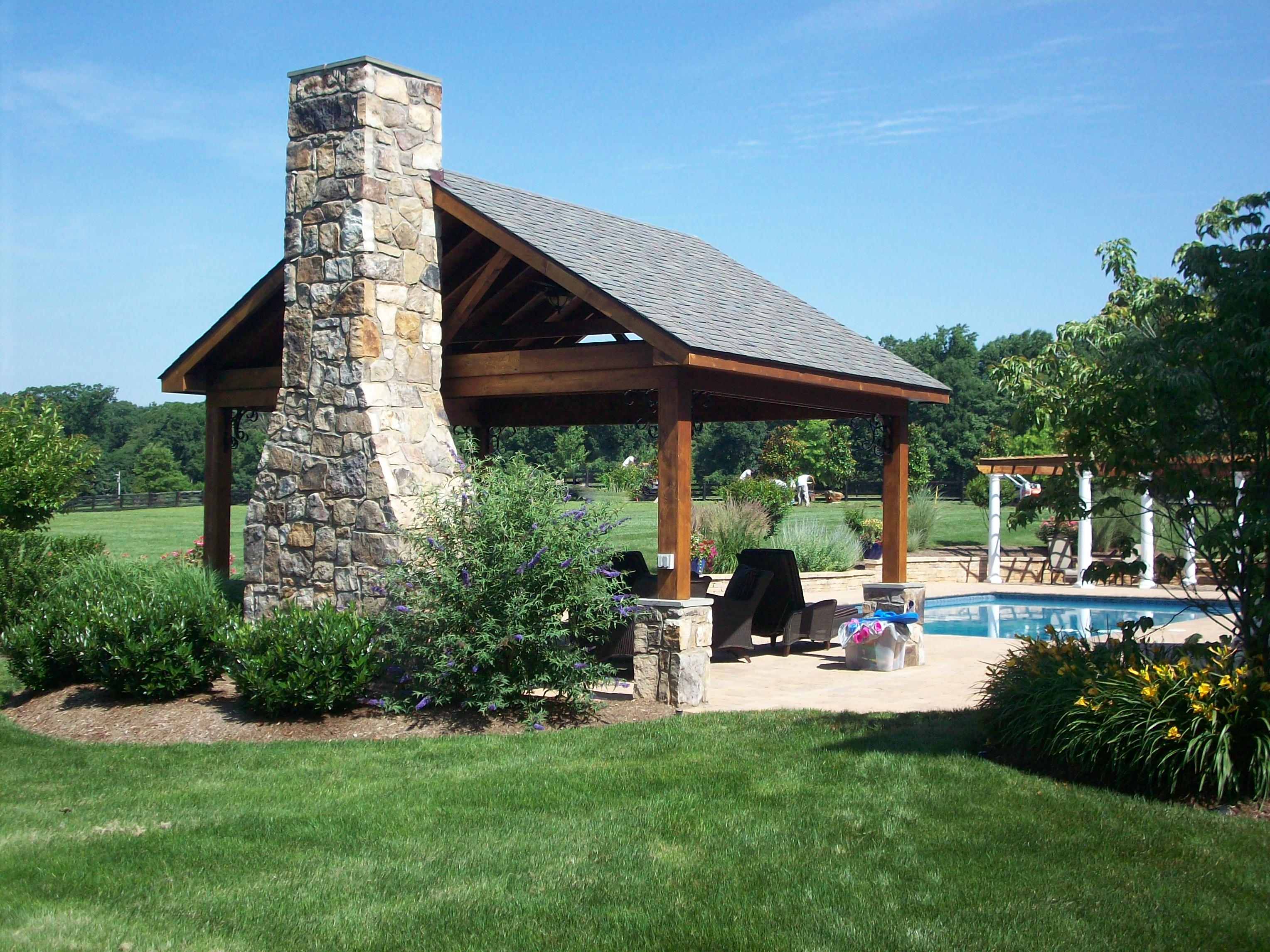 Modern Pool Pavilion Inspiration Homesfeed