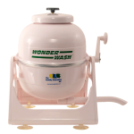 portable washer machine in light pink