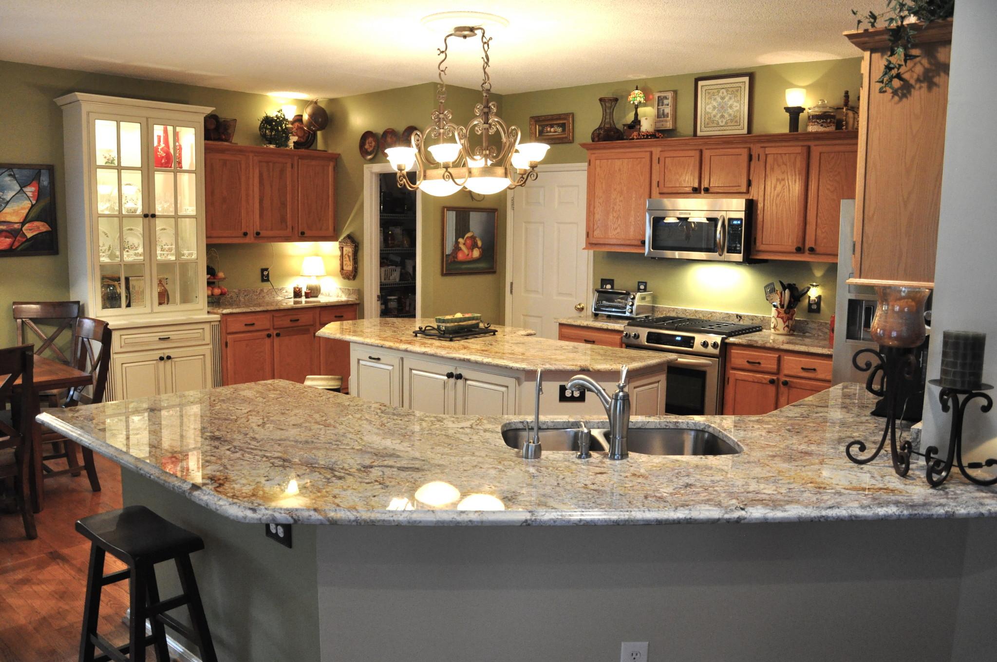 Kitchen Granite Countertop : Favorite types of granite countertops for stunning