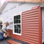 red vinyl siding for home vinyl siding installation top floor vinyl siding professional installation