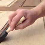 refinishing front door do-it-yourself refinishing front wooden door