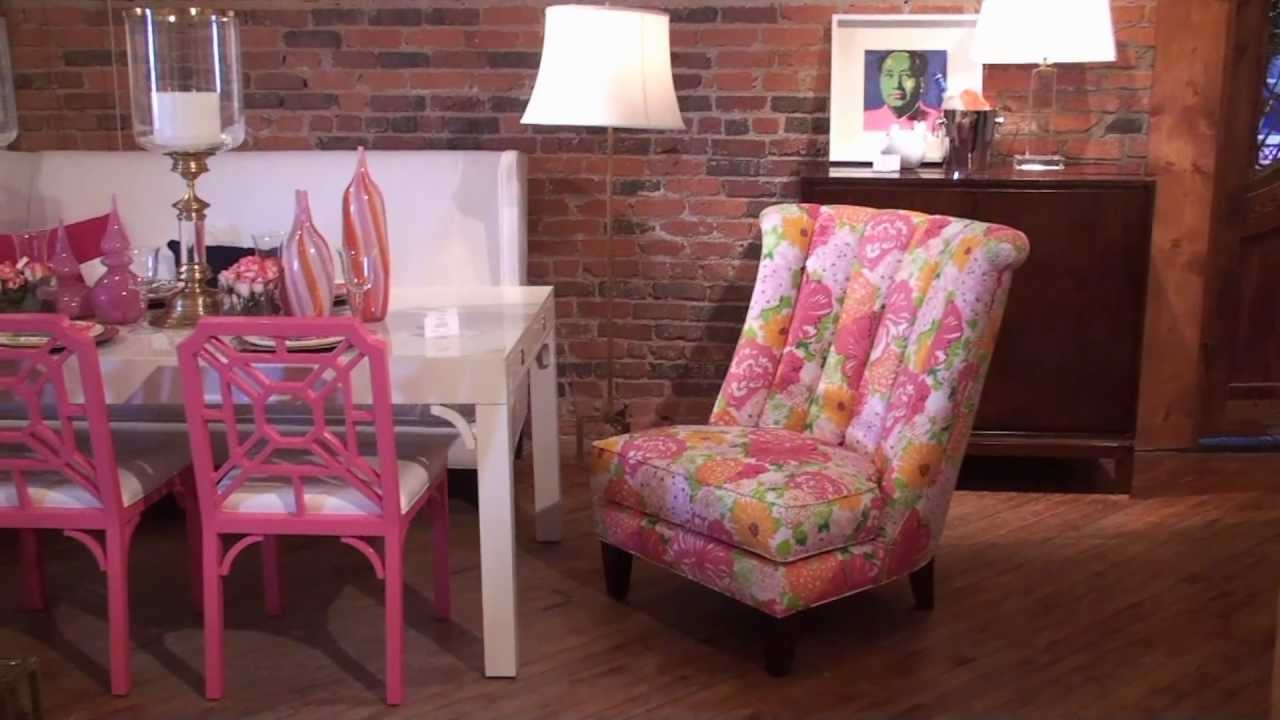 lilly pulitzer furniture best help for cheerful interior design homesfeed. Black Bedroom Furniture Sets. Home Design Ideas